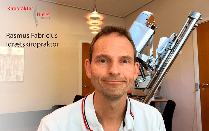 Kiropraktor Rasmus Fabricius, Kiropraktorhuset Næstved, fortæller om effekten ved kiropraktisk behandling og kiropraktik som forebyggende behandling.